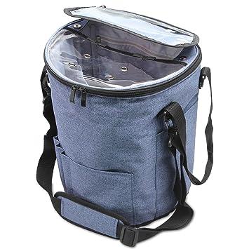 Bolsa de Ovillos Teamoy bolso de Crochet Mochila de Almacenamiento de Punto(Sin Accesorios): Amazon.es: Hogar