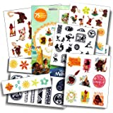 Disney Moana Tattoos - 75 Assorted Temporary Tattoos