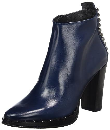 bas prix a8346 6140d Zinda 3195, Bottines Femme, Bleu Marine, 40 EU: Amazon.fr ...