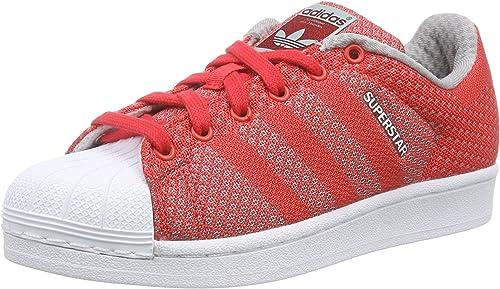 adidas Originals Superstar Weave, Baskets Basses Mixte