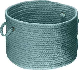 product image for Colonial Mills WL27 18 by 18 by 12-Inch Bristol Storage Basket, Teal