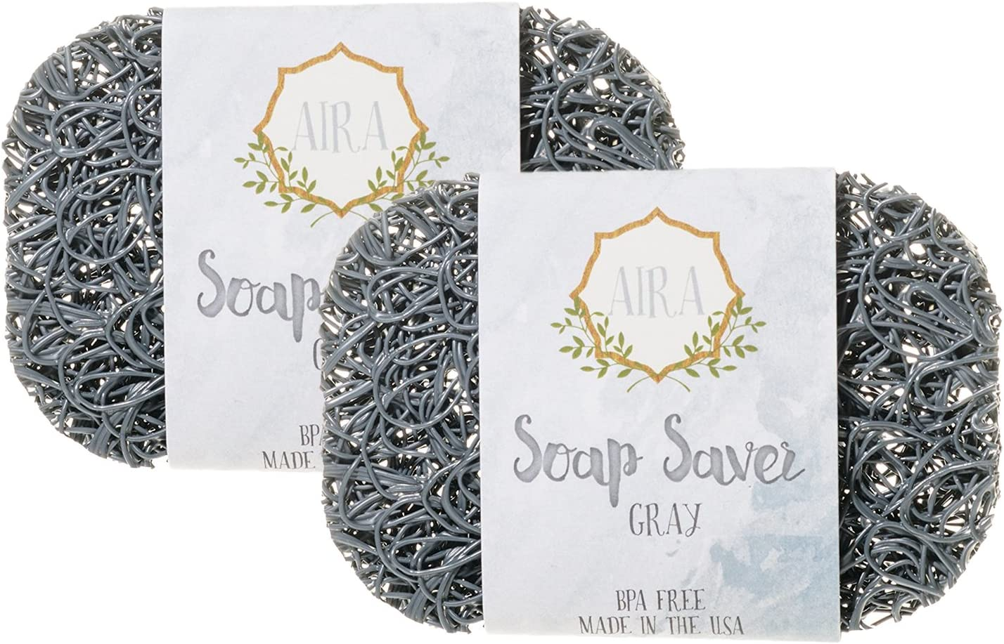 BPA Free Soap Lift Soap Dish Holder Tray Bathroom Many Colors! Aira Soap Saver