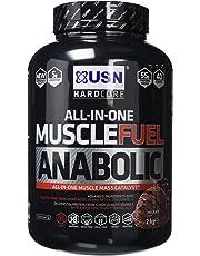 USN Muscle Fuel Anabolic Muscle Gain Shake Powder, Chocolate, 2 kg