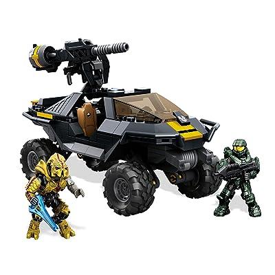 Mega Bloks Halo UNSC Attack Gausshog Building Set: Toys & Games