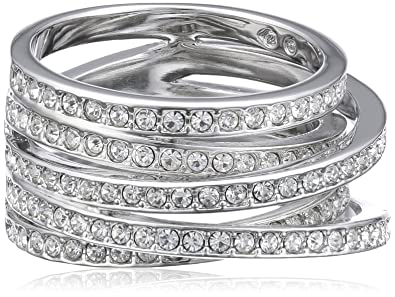 Swarovski 1156306 Women's Ring - Metal with Crystals FctH9