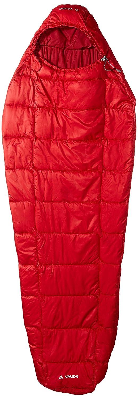 VAUDE Sioux 400 S Syn Saco de Dormir, Mujer, Rojo (Dark Indian Red), Talla Única: Amazon.es: Deportes y aire libre