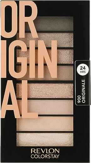 مجموعة الماكياج الكاملة/ لوحة مظلل العينين كولر ستاي لوكس بوك من ريفلون 3.4 Ounce Original