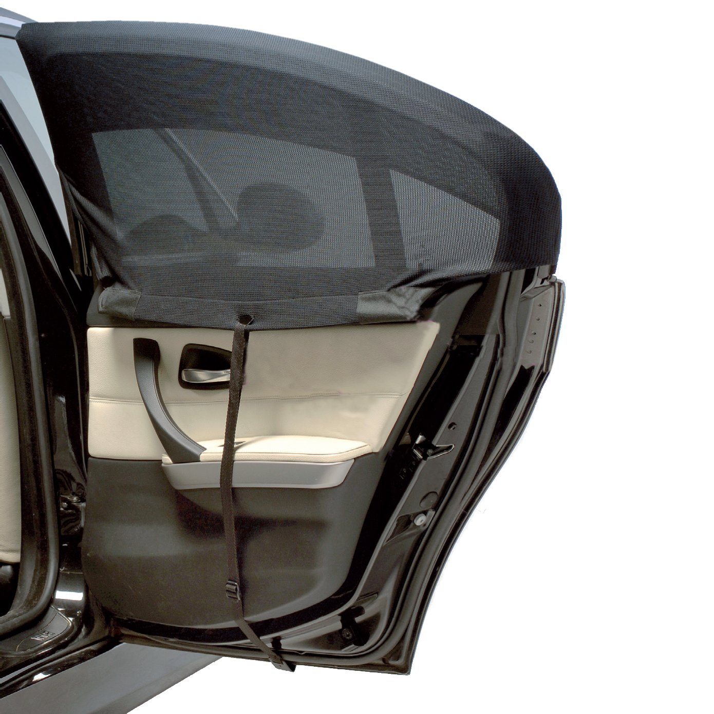 CURVED Pair Outlook Auto Shade Sun Shield ROUNDED