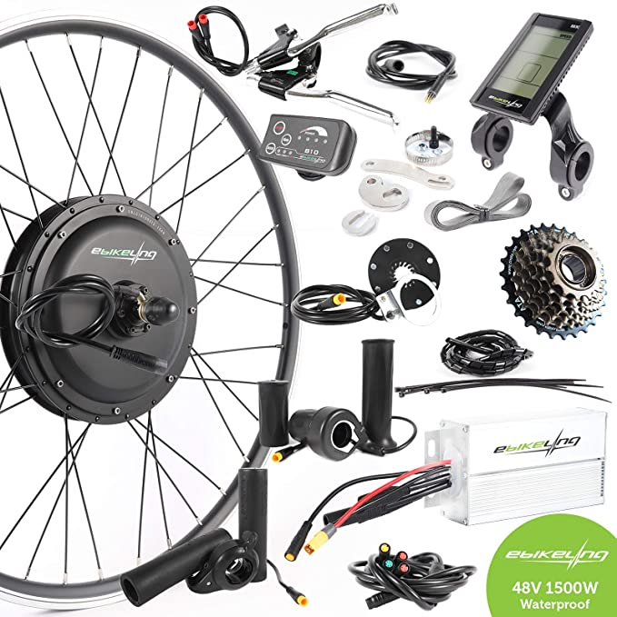 EBIKELING Waterproof Electric Bicycle Conversion Kit