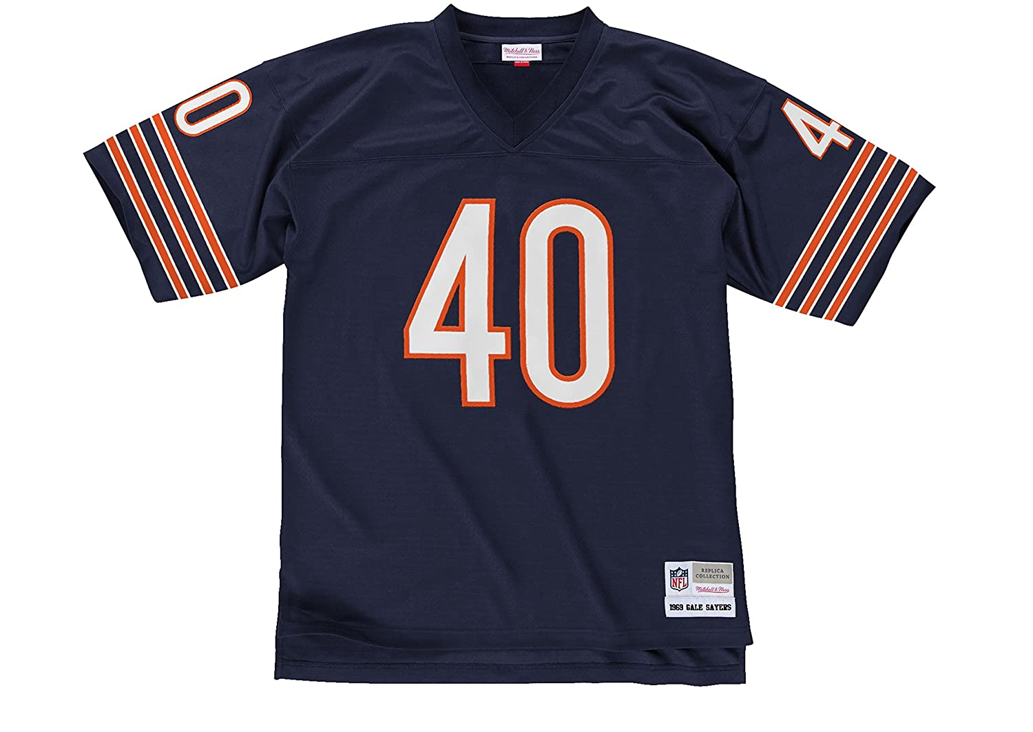 d4ff67c3 Amazon.com : Mitchell & Ness Gale Sayers Chicago Bears 1969 Throwback  Jersey : Sports & Outdoors