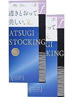 (アツギ)ATSUGI ストッキング ATSUGI STOCKING(アツギ ストッキング) 透きとおって、美しい。【夏】 太もも丈〈2足組2セット〉