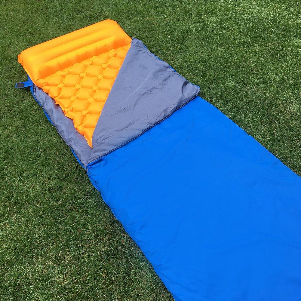 Amazon.com: LANFIND Almohadilla de dormir inflable con ...