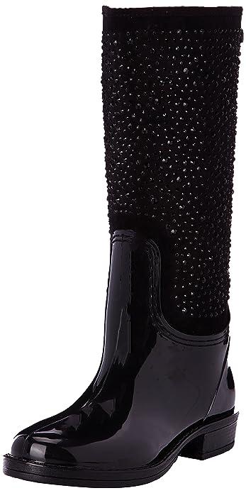 Bottes Noir De 27271 negro Pluie Eu 36 Xti Femme P4qa5zx