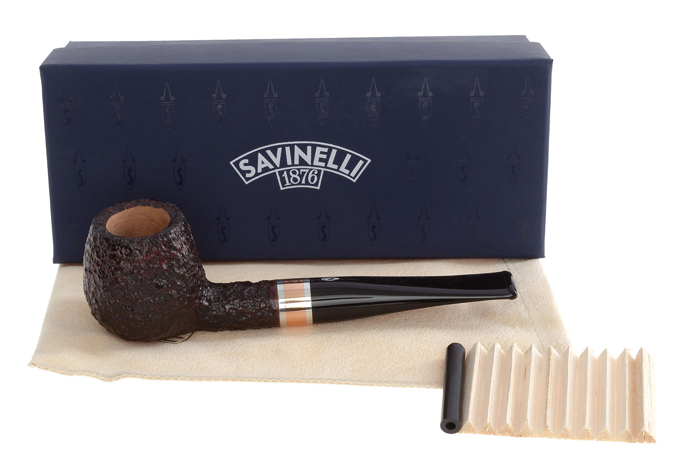 Savinelli Marte 207 Tobacco Pipe - Rustic