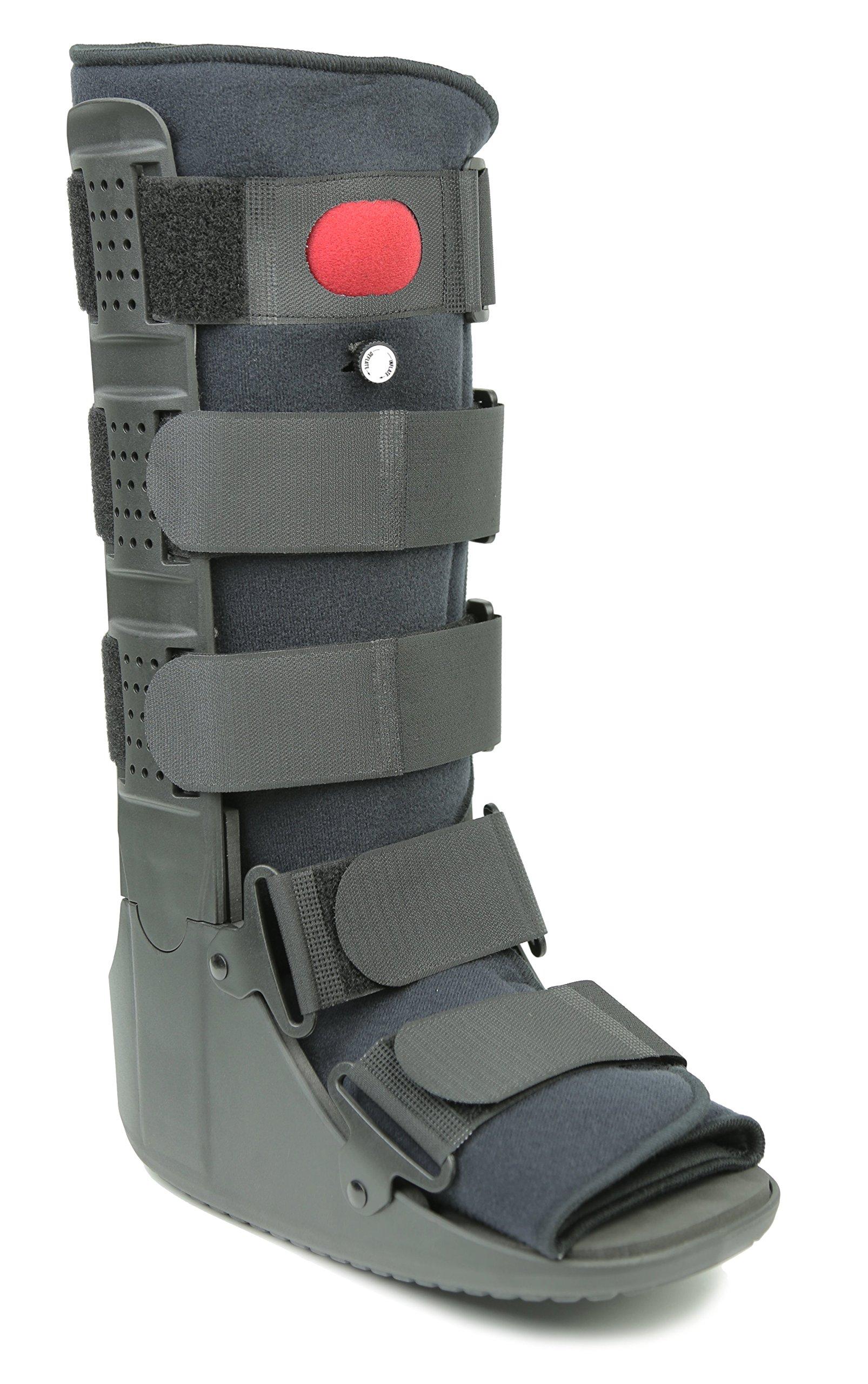 Mars Wellness Premium Tall Air Cam Walker Fracture Ankle/Foot Stabilizer Boot - Medium