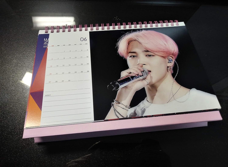 BTS Tischkalender 2020-2021 mit Aufkleber-Set Jimin 3