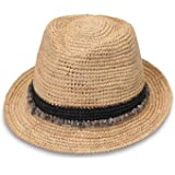 Wallaroo Hat Company Women's Tahiti Sun Hat - Fedora-Style Sun Hat