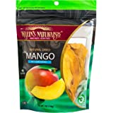 Klein's Naturals natural dried mango no sugar added , Kosher Certified mango slices, Resealable Pouches of dried mangoes 7-Ounce  (Pack of 3)
