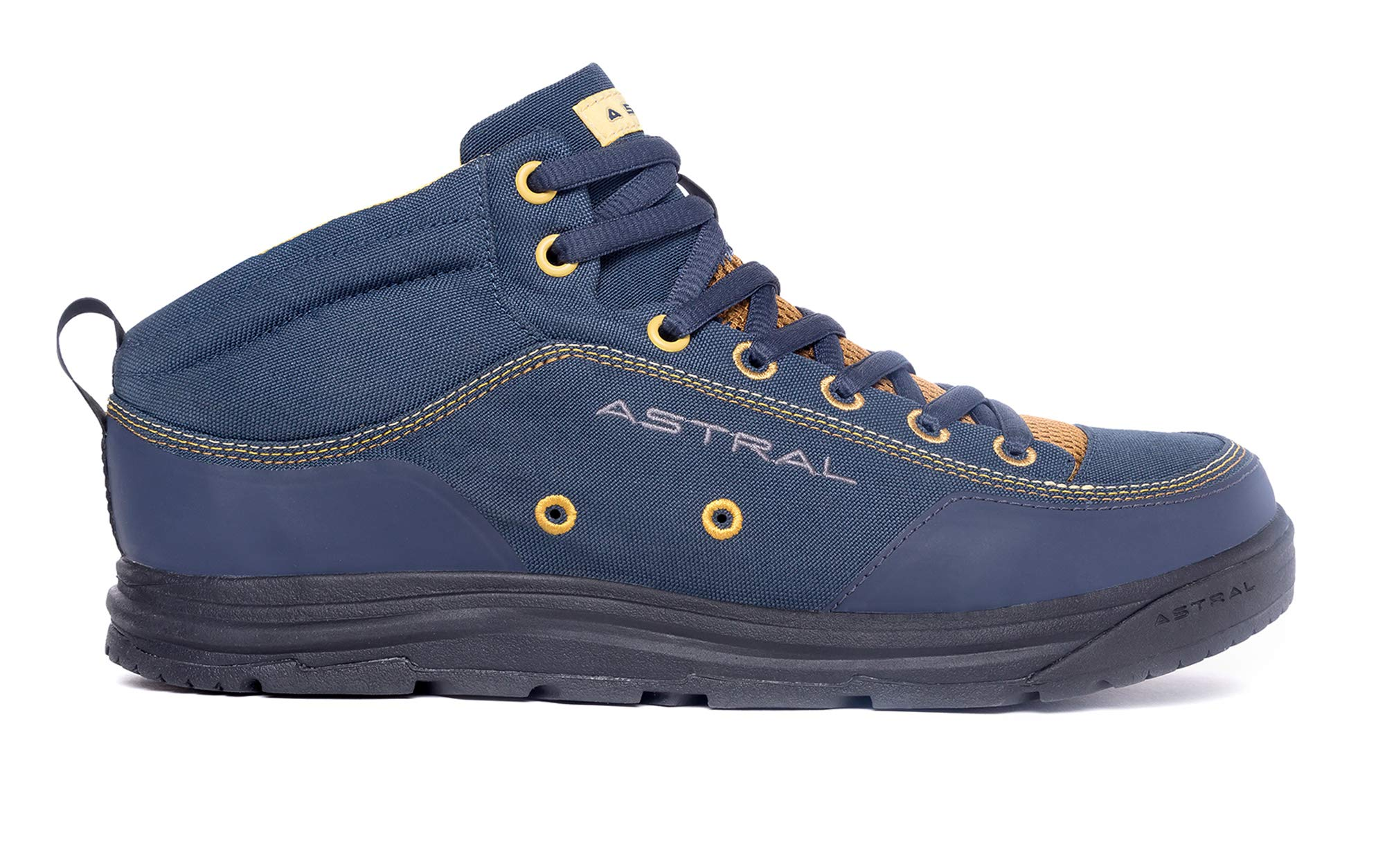 Astral Rassler 2.0 Outdoor Minimalist Shoes, Grippy and Lightweight, Made for Whitewater, Canyoneering, Fly Fishing, and Travel, Storm Navy, Men's 10.5 M US, Women's 11.5 M US by Astral