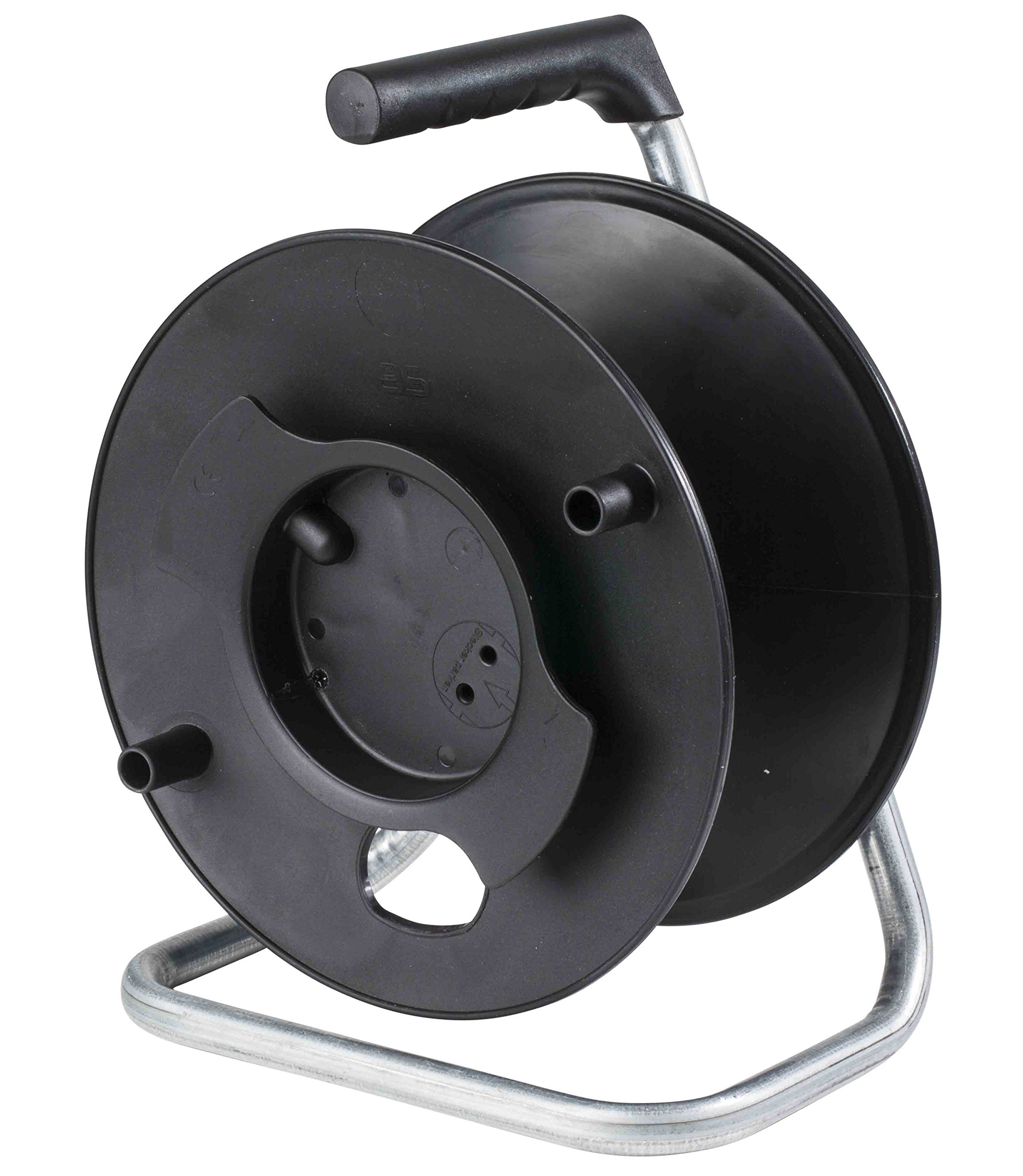 as – Schwabe 12110 230 mm Diameter Empty Storage Reel - Black