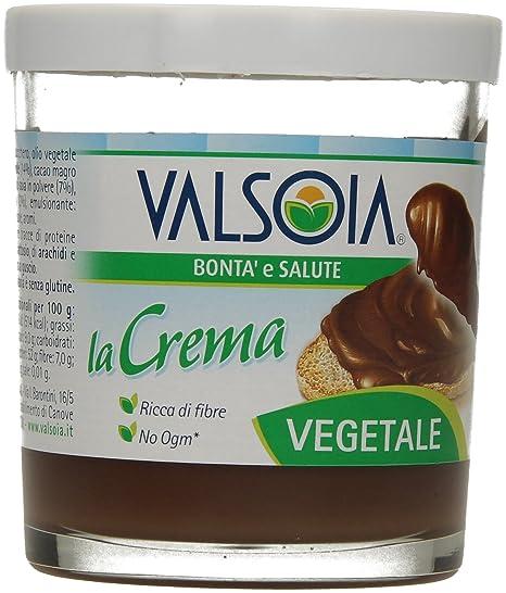 Crema Para Untar De Avellanas Y Cacao Son Soja Valsoia 200G