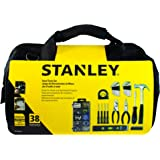 Stanley Household Hand Tools Set with Bag, STHT74333, 38 Pieces