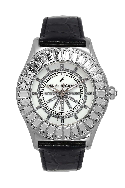 Daniel Hechter Damen-Armbanduhr Analog Quarz Leder DHD 006S-BA