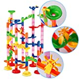 dOvOb Marble Run Construction Building Blocks Toys - Railway Set - As Christmas Gifts for Kids
