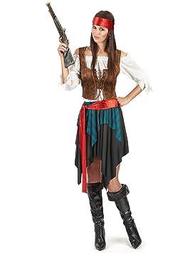 Disfraz de mujer pirata: Amazon.es: Juguetes y juegos