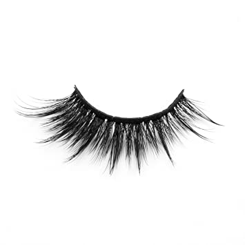 280e5f010ef Amazon.com : 3D Mink Lashes Natural Long Thick False Eyelashes for Makeup  Synthetic faux Mink fur Lashes 1 Pair by EYEMEI ... : Beauty