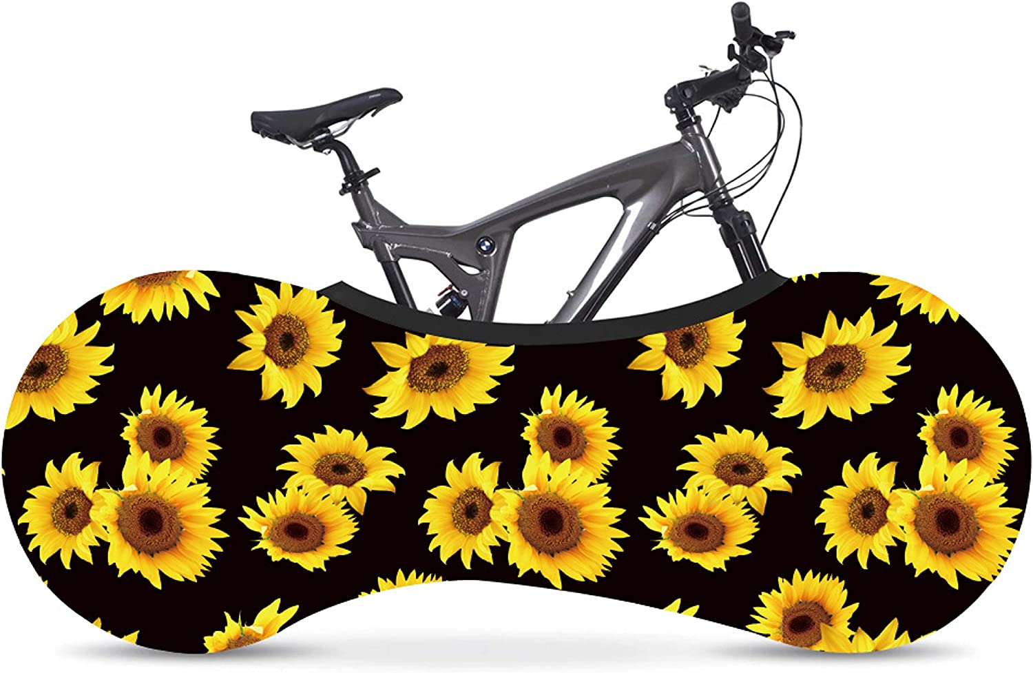 Indoor Cover for Storage and Transportation,Washable Elastic Bike Wheel Cover Anti-Scratch Gear Wheel Tire Package for Adult Bike PS Planet Sister Bike Wheel Cover