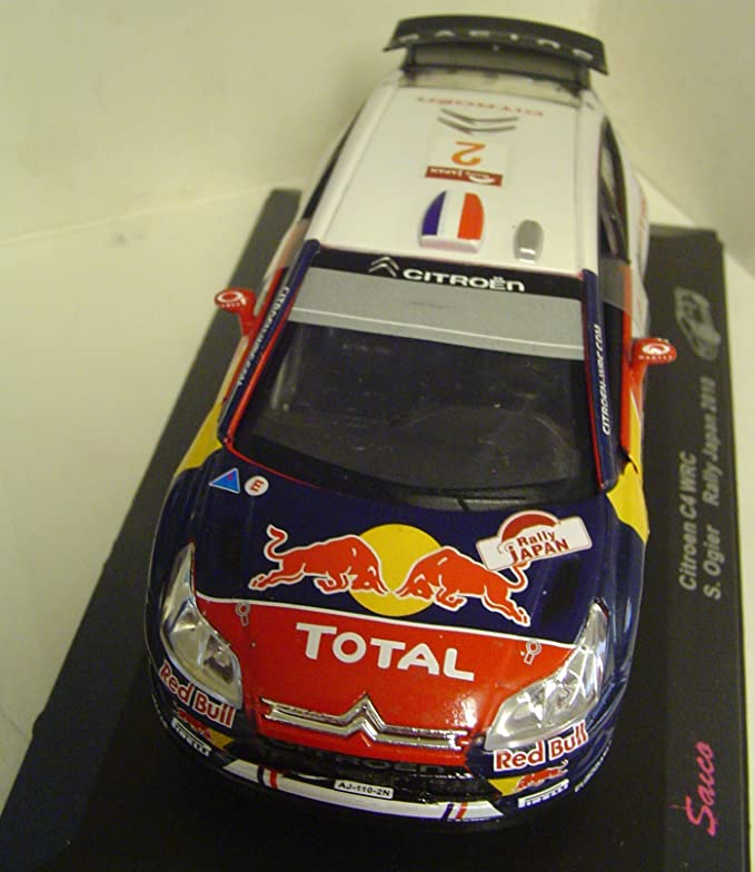 Amazon.com: Saico escala 1: 32 Citroen C4 S. Ogier Rally de ...
