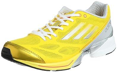 more photos 9940d c07e3 adidas adizero Feather 2 W Q34633, Damen Laufschuhe, Gelb (Vivid Yellow S13