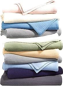 Lauren Ralph Lauren Classic Estate Cotton Twin Blanket - Taupe/Khaki