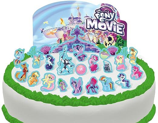 Vorgeschnittene Und Essbare My Little Pony Szene Kuchen Topper