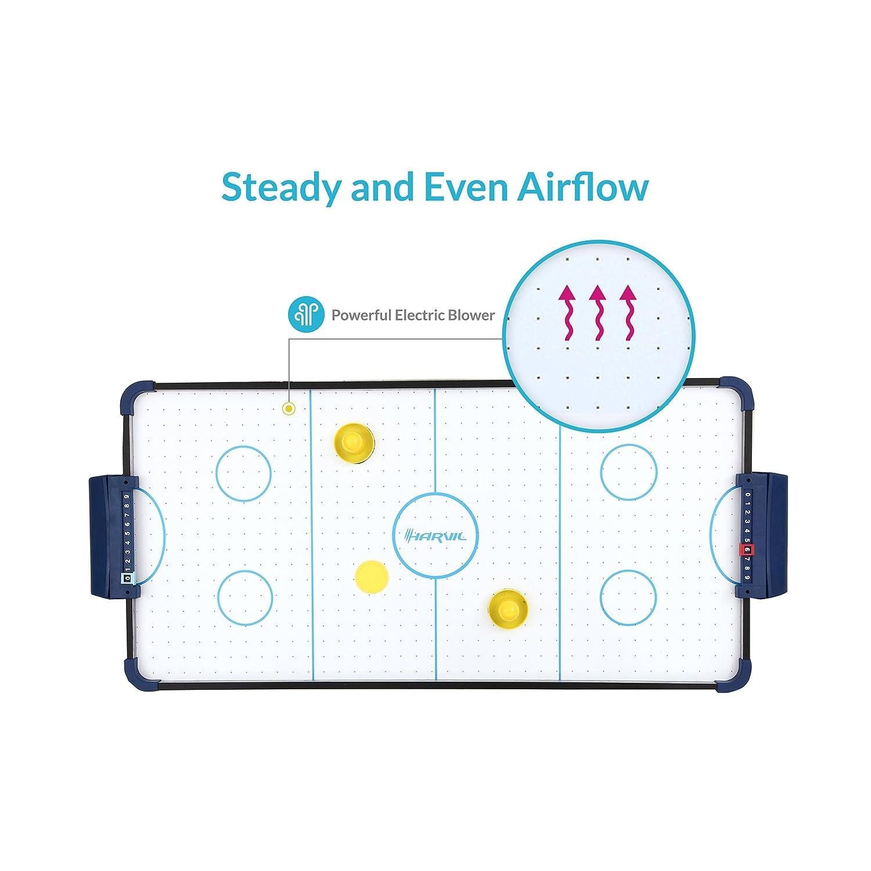 Amazon.com: Mesa de hockey de aire Harvil 40 pulgadas con ...