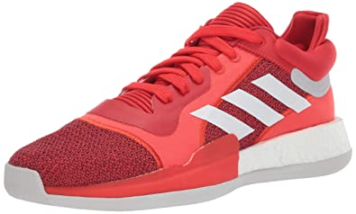 low priced 961d1 6e15b adidas Men s Marquee Boost Low, Active red White Scarlet 7 ...