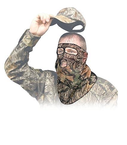 ce1e5d5044b3b Amazon.com   Primos Ninja Mesh 3 4 Mask Face Mask - Mossy Oak New ...