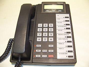 amazon com toshiba dkt 2010 sd digital lcd speakerphone corded rh amazon com toshiba office phone manual dp5032-sd toshiba office phone manual dp5032-sd