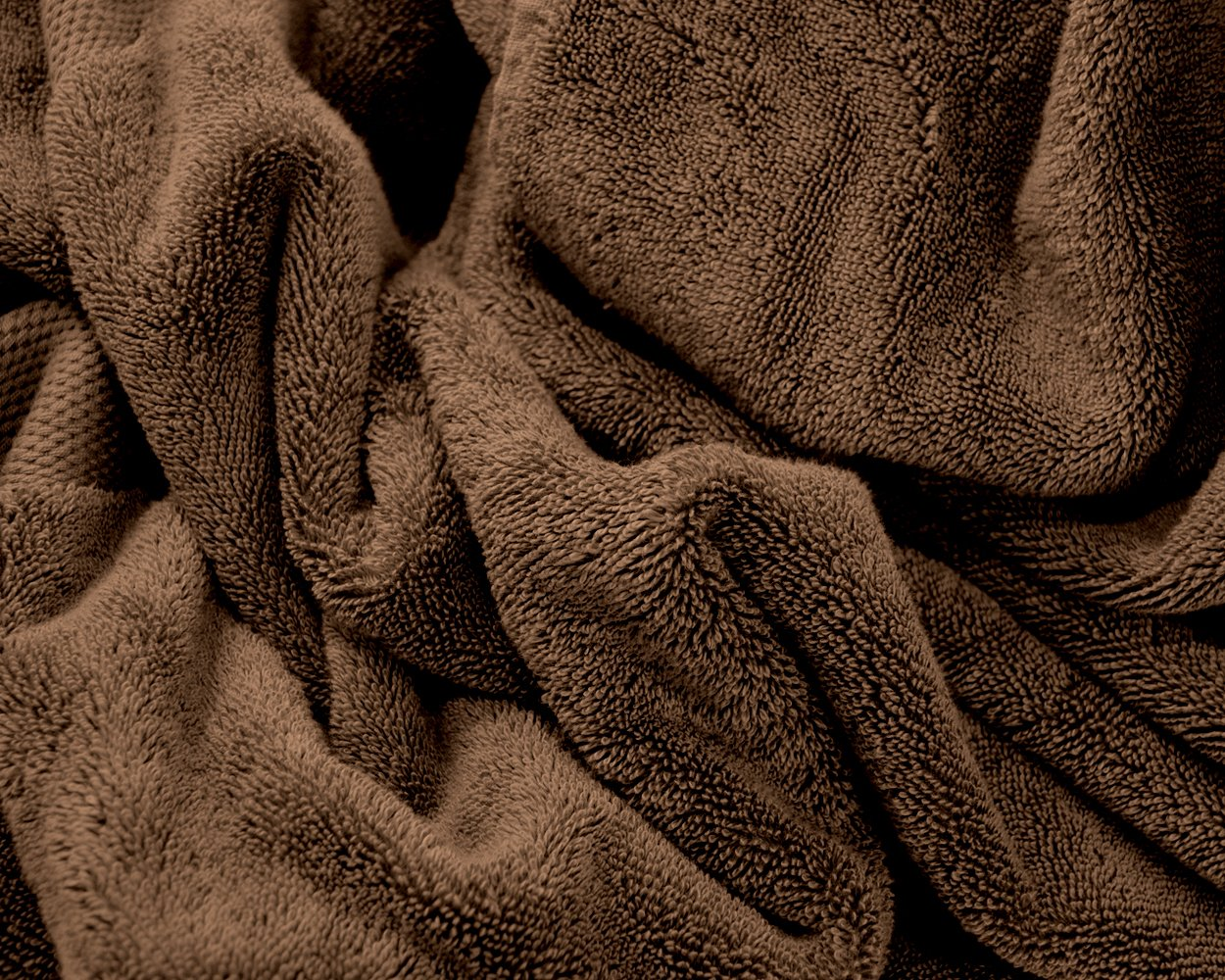 Cotton /& Calm Exquisitely Plush and Soft Extra Large Bath Towel Premium 100/% Combed Cotton Oversized Luxury Bath Sheet Beach Towel Pool Towel Chocolate//Dark Brown, 35 x 70, Set of 1