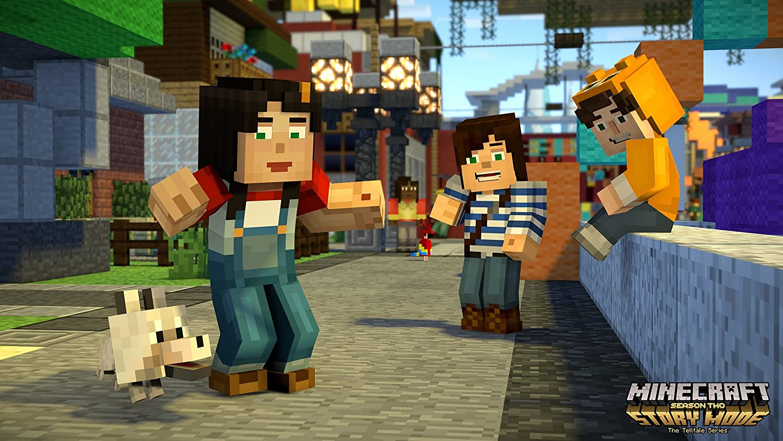 Minecraft: Story Mode - Saison 2 [Importación francesa]: Amazon.es: Videojuegos