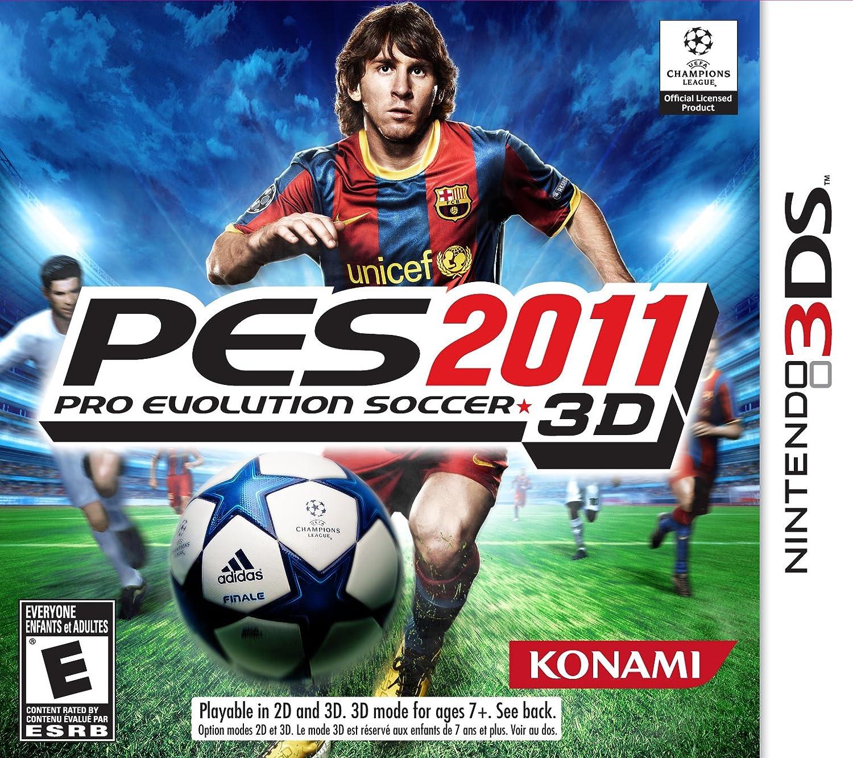 Amazon com: Pro Evolution Soccer 2011 3D - Nintendo 3DS: Video Games