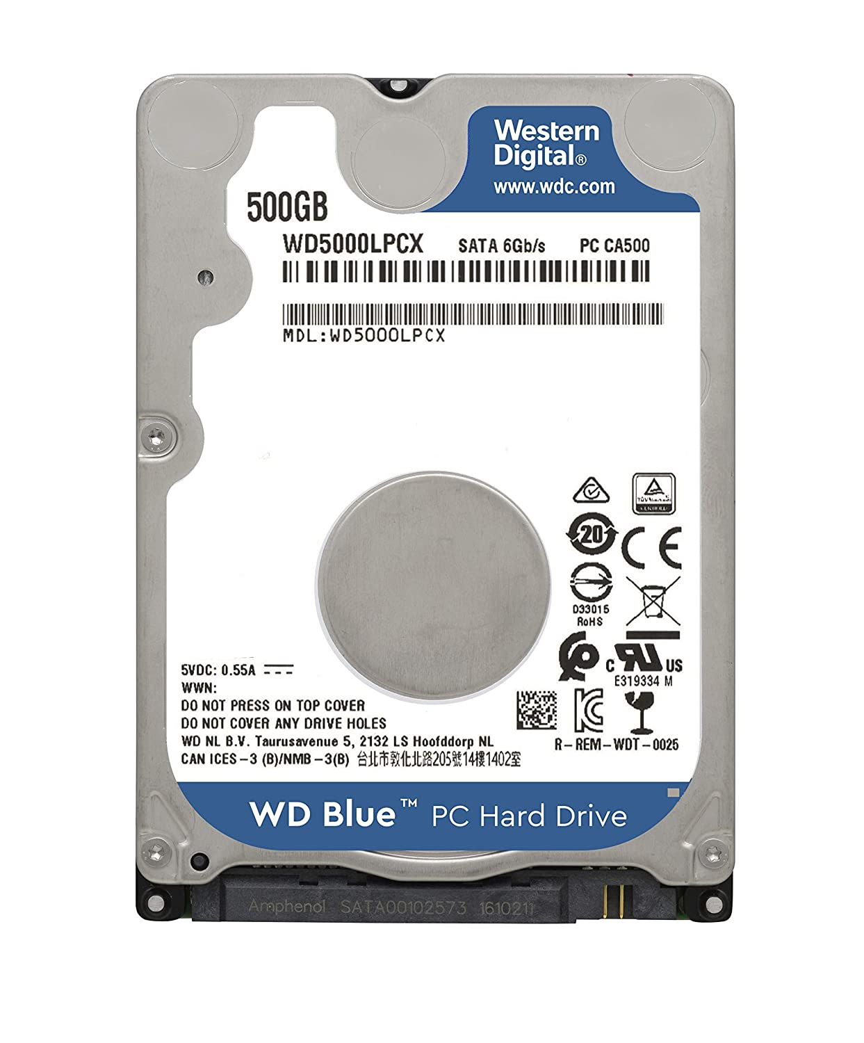 Amazon In Buy Western Digital Wd5000lpcx 500 Gb Sata 2 5 Inch Laptop Hard Drive Online At Low Prices In India Western Digital Reviews Ratings