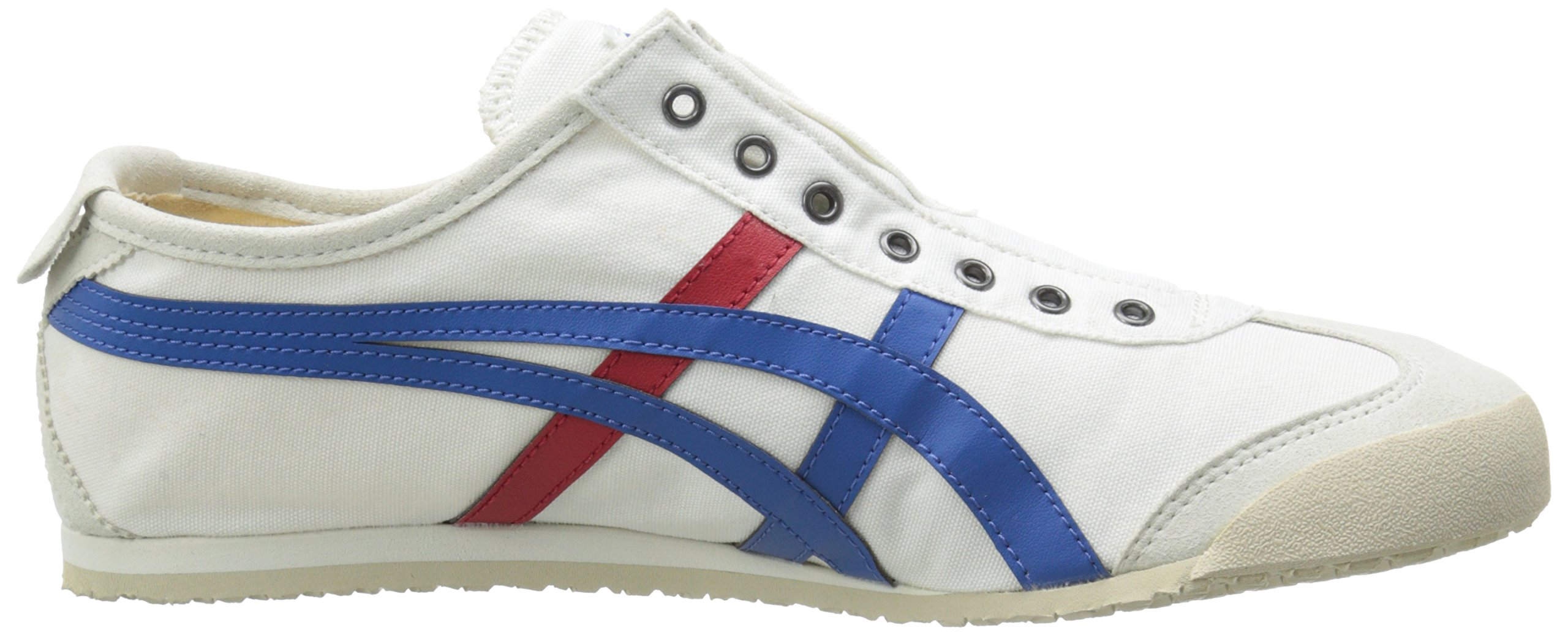 Onitsuka Tiger Unisex Mexico 66 Slip-on Shoes D3K0N, White/Tricolor, 9.5 M US by Onitsuka Tiger (Image #7)