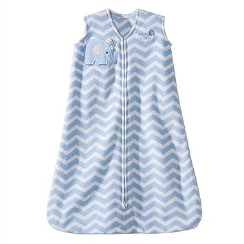 4567f901d Amazon.com: Halo SleepSack Micro-Fleece Wearable Blanket, Blue Zig Zag, X- Large: Baby