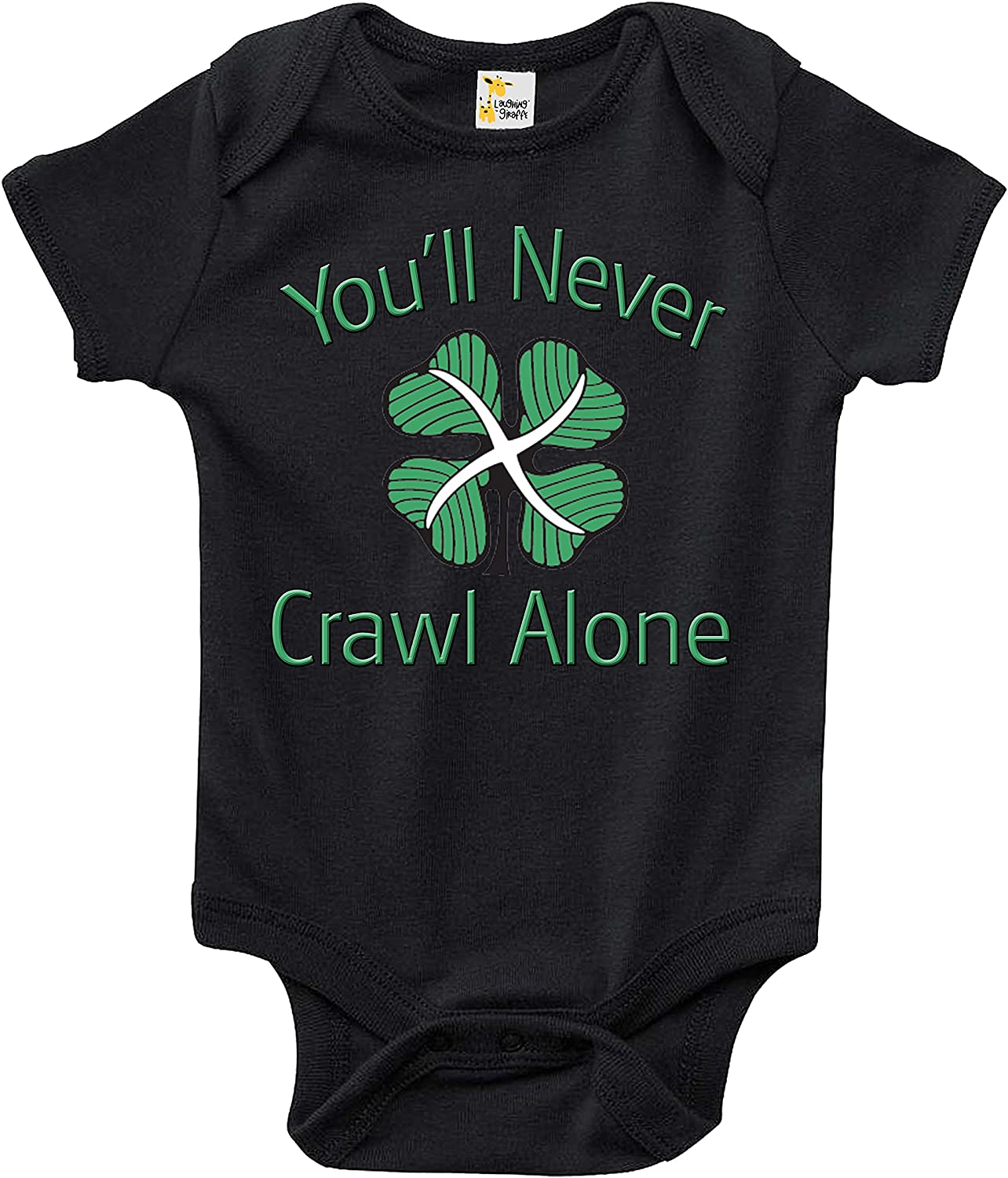 Rapunzie Celtic FC Youll Never Crawl Alone Baby Bodysuit Cute Infant Baby Clothes