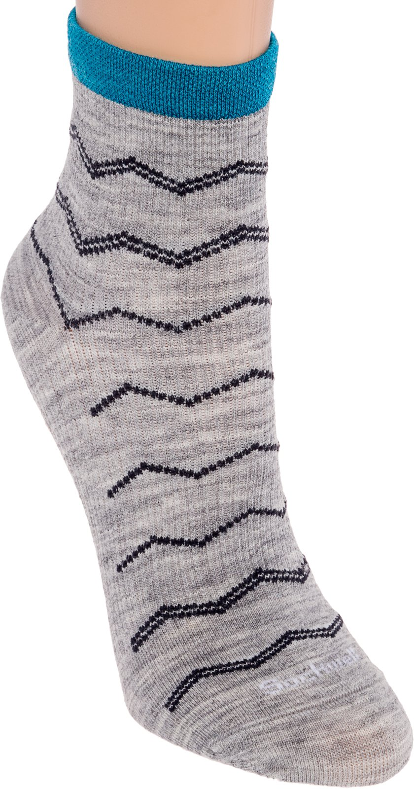 76ef37eb34 Sockwell Women's Plantar Fasciitis Firm Compression Socks, Plantar Quarter  Grey, Medium/Large