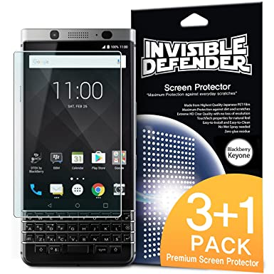 blackberry keyone screen protector invisible defender 3 1 film rh amazon co uk BlackBerry PlayBook Melon Fusion