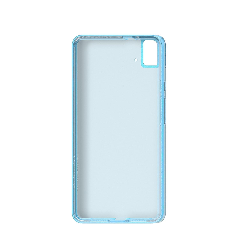 bq Gummy - Carcasa para bq E5S, color azul