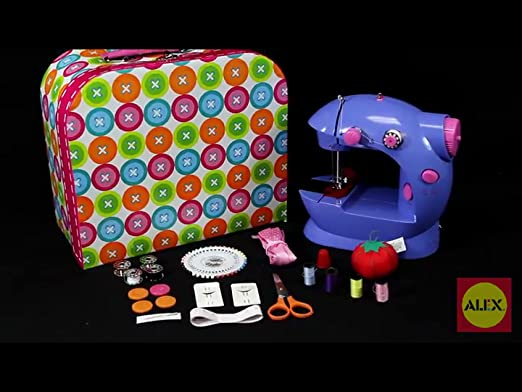 Amazon ALEX Toys Craft Sew Fun Craft Kit Toys Games Impressive Alex Sew Fun Sewing Machine